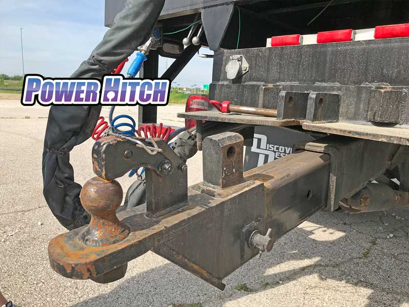 Power hitch